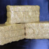 miniature bales of shredded Wheat Straw, wheat straw