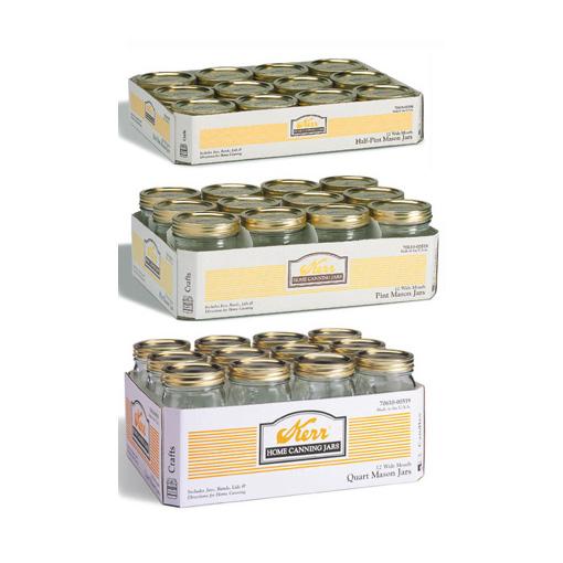 Glass Canning Jars Myco Supply