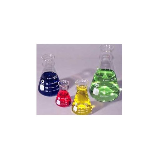 glass erlenmeyer flasks